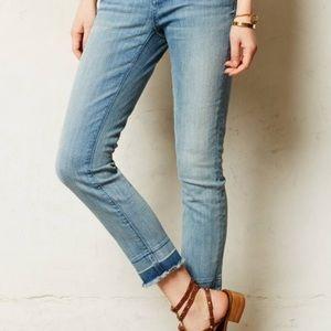 Anthro Pilcro & The Letterpress Stet Crop Jeans